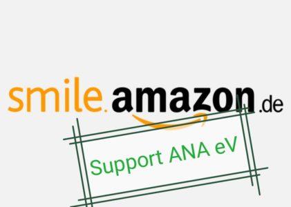 Amazon spendet an ANAeV Spende an uns wenn Du bei Amazon kaufst!